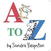Cover-Bild zu A to Z von Boynton, Sandra