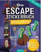 Cover-Bild zu Escape-Stickerbuch - Nachts im Museum von Kiefer, Philip