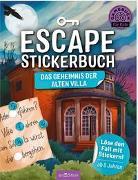 Cover-Bild zu Escape-Stickerbuch - Das Geheimnis der alten Villa von Kiefer, Philip