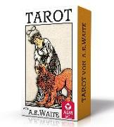 Cover-Bild zu Premium Tarot von A.E. Waite von Waite, Arthur Edward