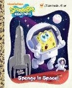 Cover-Bild zu Sponge in Space! (SpongeBob SquarePants) von Golden Books