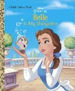 Cover-Bild zu Belle is My Babysitter (Disney Princess) von Saxon, Victoria