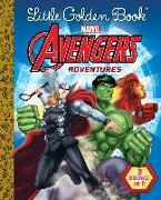 Cover-Bild zu Little Golden Book Avengers Adventures (Marvel) von Golden Books