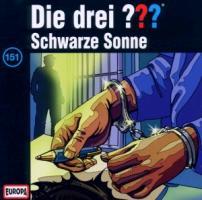Cover-Bild zu Die drei ??? 151. Schwarze Sonne (drei Fragezeichen) CD