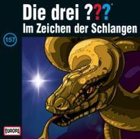 Cover-Bild zu Die drei ??? 157. Im Zeichen der Schlangen (drei Fragezeichen) CD