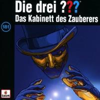 Cover-Bild zu Die drei ??? 181. Das Kabinett des Zauberers (drei Fragezeichen) CD