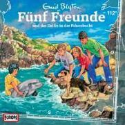 Cover-Bild zu Fünf Freunde 112 und der Delfin in der Felsenbucht von Blyton, Enid