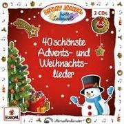 Cover-Bild zu 40 schönste Advents- und Weihnachtslieder von Jöcker, Detlev