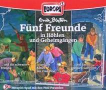 Cover-Bild zu Fünf Freunde Box 16 ... in Höhlen und Geheimgängen von Blyton, Enid