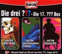 Cover-Bild zu Die drei ??? Box 17. Folgen 49-51 (drei Fragezeichen) 3 CDs