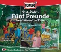 Cover-Bild zu Fünf Freunde Box 20 ... beschützen die Tiere (74 / 84 / 90) von Blyton, Enid