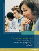 Cover-Bild zu Statistics for The Behavioral and Social Sciences: Pearson New International Edition PDF eBook (eBook) von Coups, Elliot J.