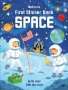 Cover-Bild zu First Sticker Book Space von Smith, Sam