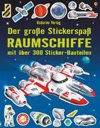 Cover-Bild zu Der große Stickerspaß: Raumschiffe von Tudhope, Simon