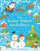 Cover-Bild zu Mein bunter Winter-Knobelblock von Tudhope, Simon