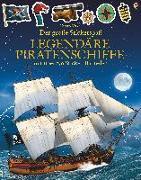 Cover-Bild zu Der große Stickerspaß: Legendäre Piratenschiffe von Tudhope, Simon