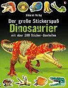 Cover-Bild zu Der große Stickerspaß: Dinosaurier von Tudhope, Simon