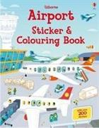 Cover-Bild zu Airport Sticker and Colouring Book von Tudhope, Simon