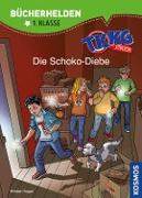Cover-Bild zu TKKG Junior, Bücherhelden 1. Klasse, Die Schoko-Diebe (eBook) von Vogel, Kirsten