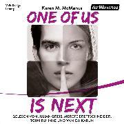 Cover-Bild zu One Of Us Is Next (Audio Download) von McManus, Karen M.