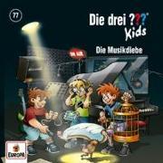 Cover-Bild zu Die drei ??? Kids 77: Die Musikdiebe