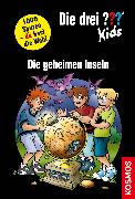 Cover-Bild zu Die drei ??? Kids und du, Die geheimen Inseln (drei Fragezeichen Kids) (eBook) von Pfeiffer, Boris