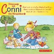 Cover-Bild zu Unterwegs mit Conni - Die Hörspielbox von Schneider, Liane