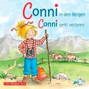 Cover-Bild zu Conni in den Bergen / Conni geht verloren von Schneider, Liane
