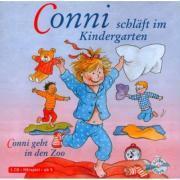 Cover-Bild zu Conni schläft im Kindergarten/Conni geht in den Zoo von Schneider, Liane