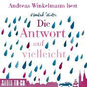 Cover-Bild zu Die Antwort auf Vielleicht (Ungekürzt) (Audio Download) von Winter, Hendrik