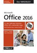 Cover-Bild zu Microsoft Office 2016 - Das Handbuch von Haselier, Rainer G.