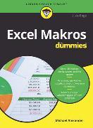 Cover-Bild zu Excel Makros für Dummies von Alexander, Michael