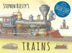 Cover-Bild zu Stephen Biesty's Trains von Graham, Ian (Author)