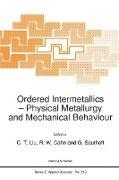 Cover-Bild zu Ordered Intermetallics von Cahn, R. W. (Hrsg.)