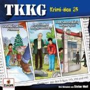 Cover-Bild zu TKKG Krimi-Box 25 (Folgen 193, 194, 195)