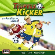 Cover-Bild zu Die Teufelskicker 02. Eine knallharte Saison! CD