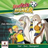 Cover-Bild zu Teufelskicker 61. Das Abstiegsgespenst!