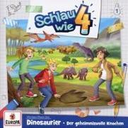 Cover-Bild zu Schlau wie Vier 01. Dinosaurier: Der geheimnisvolle Knochen