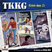 Cover-Bild zu TKKG Krimi-Box 21 (Folgen 181, 182, 183)