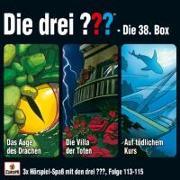 Cover-Bild zu Die drei ??? - Box 38 (Folgen 113-115) (drei Fragezeichen)