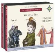 Cover-Bild zu Weltliteratur für Kinder: 3-er Box Deutsche Klassik: Faust, Wilhelm Tell, Nathan der Weise von Kindermann, Barbara