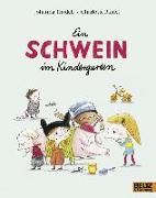 Cover-Bild zu Ein Schwein im Kindergarten von Thydell, Johanna