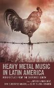 Cover-Bild zu Heavy Metal Music in Latin America (eBook) von Molinari, Ximena (Beitr.)