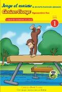 Cover-Bild zu Jorge el curioso se divierte haciendo gimnasia/Curious George Gymnastics Fun Bilingual (CGTV Reader) (eBook) von Rey, H. A.
