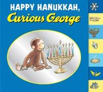 Cover-Bild zu Happy Hanukkah, Curious George (eBook) von Rey, H. A.