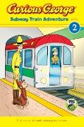 Cover-Bild zu Curious George Subway Train Adventure (eBook) von Rey, H. A.