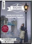 Cover-Bild zu Escape Adventures - Sherlock Holmes: Das geheime Tagebuch (NEUE Codeschablone für mehr Rätselspaß) von Autorenteam Pfeffermind