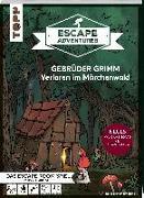 Cover-Bild zu Escape Adventures - Gebrüder Grimm: Verloren im Märchenwald (NEUE Codeschablone für mehr Rätselspaß) von Autorenteam Pfeffermind
