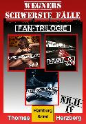 Cover-Bild zu Fan-Trilogie (Wegners schwerste Fälle: Teil 2-4) (eBook) von Herzberg, Thomas