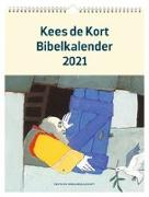 Cover-Bild zu Kees de Kort Bibelkalender 2021 von de Kort, Kees (Illustr.)